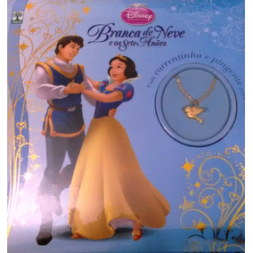 Livro Disney Princesa-branca De Neve E Os Sete Anões C/frete