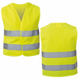 Chaleco Reflectante Seguridad Amarillo Fluor / Ekipofertas