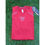 Under Armour Camiseta Lycra Compresion Shirt Large Baseball