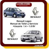 Renault Logan Manual Taller Reparacion Diagnostico De Fallas