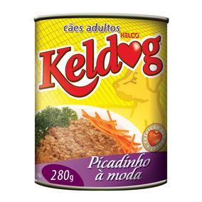 Ração Úmida Keldog Picadinho À Moda - 280gr