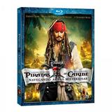 Piratas Del Caribe Navegando Aguas Misteriosas - Blu-ray