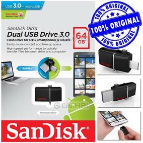 Memory Flash Pendrive Dual 64gb 3.0 Con Conector Micro Usb