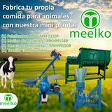 Mini Planta Para Vaca De Alimentos Combo (150p/158b/150b)