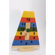 Reloj Educativo, Juguete, Material Didáctico