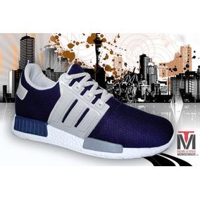 Tenis Hombre Adi Yeezy3 Zapato Deportivo Azul
