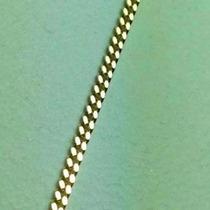 Cadena Grumet40 Cm. De Largo Oro 18 K Garantizado