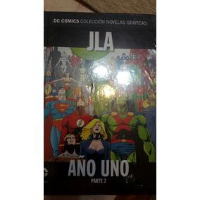 Colección Dc/salvat Numero 10 Jla Año Uno Parte 2