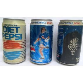 Pepsi Cola Lote 3 Latas: Sorín - Star Wars - Diet Años 80