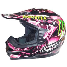 Casco Cross Hjc Cirus Monster Rojo T: M - Xxl Top Racing