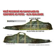 Capa Case Arma Luneta Aeg M4 Airsoft Estojo Tactical Preta