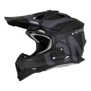 Casco Oneal Motocross Enduro 2 Series Slick Negro Mate 2019