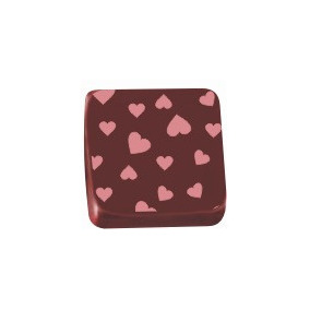 Transfer Para Chocolate - (corações Rosa 8005 08) - 01 Un