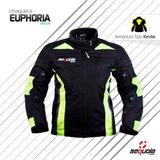 Chaquetas Moto Dama Cordura Sequoia Green Con Proteccion!!