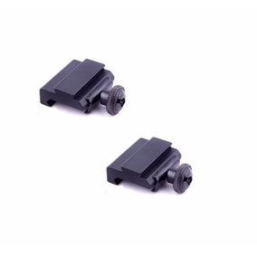 Par Adaptador Trilho 20mm Ou 22mm Para 11mm Red Dot 27x2
