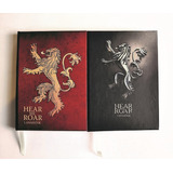 Libreta Juego De Tronos Lannister (cuaderno,personalizado)
