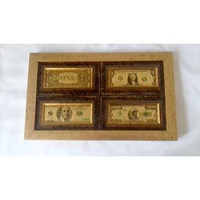 Cuadro Dólares Fino Acabado Regalo Ideal Envío Gratis