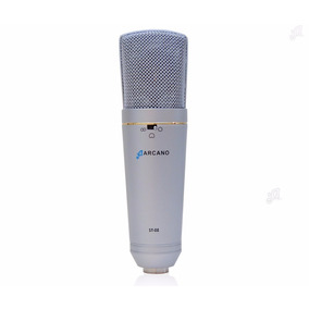 01 Microfone St-02 + 01 Pop-filter Amf1