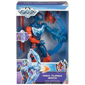 Boneco Max Steel Turbo Arco