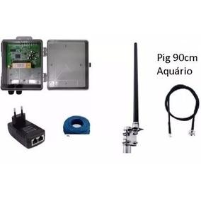 Kit Provedor 12 Dbi 1000mw Antena Omni 12+pcba Profissional!