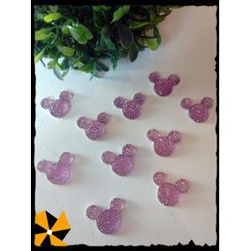 Minnie Mini Mickey Aplique Strass Decoración Candy Bar X10