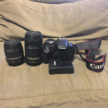 Camera Cannon T1 Com Duas Lentes