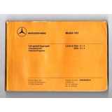 Manual Chassis E Agregados Caminhao Mercedes Benz 2624 2628