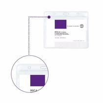Mica Para Credencial Pvc Plástico Transparente 98x68mm Caja.