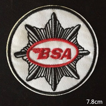 Parche Bsa Motorcycle Vintage Retro B S A Motos Logo