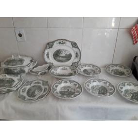 Aparelho De Jantar De Porcelana Mod Cambridge Nº352404