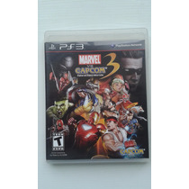 Marvel Vs Capcom 3 - Fate Of Two Worlds - Ps3 Original