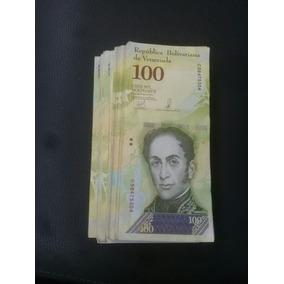 Lote 300 Cedulas 100 Mil Bolivares Mbc Da Venezuela