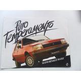 Folleto Renault 18 Gxe Folleto 1987 No Manual Insignia Auto