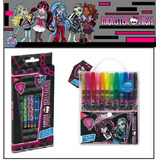 Kit Escolar Monster High - 24 Peças