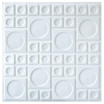 Placas Forro Revestimento Pvc 3d 50cm X 50cm