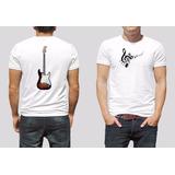 Camiseta Musica Instrumento Musical Guitarra