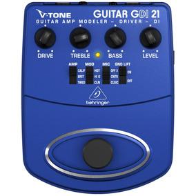 Pedal P/ Guitarra - V Tone Guitar Driver Di Gdi21 Behringer