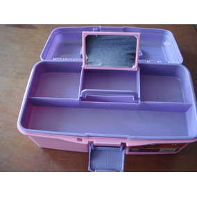 Caja Organizadora De Seguridad Peluqueria Manicurista 15pulg