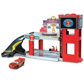 Cars 3 - Garage De La Copa Pistón Mattel Dwb90
