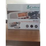 Rádio Vhf Cobra Mr F45-d Marítimo Homologado