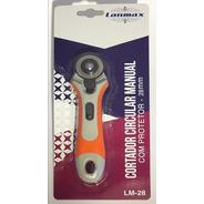 Cortador Circular Manual Com Protetor Tipo Bananinha - 28mm