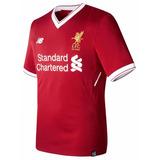 Camisa Liverpool Inglaterra 17 18 Pronta Entrega Coutinho