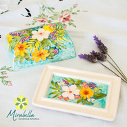 Mantequera Cerámica Mirabella- Fiori Di Primavera