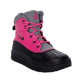 Nike Woodside 2 High Ps Pink/black, Niñas, Número 18 Cm Mex.