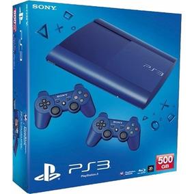 Playstation 3 Slim De 500gb C/74 Juegos 2joystick Sony !!!!!