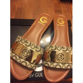 Auténtica Guess Jeena Importada Elegant Sandal Flat Size 8