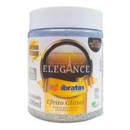 Efeito Glitter Brilho Gel P/ Tintas 600ml Elegance Ibratin