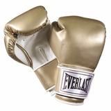 Guantes Boxeo Kick Boxing Everlast Pro Style Gold 12 Oz