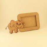 Souvenir Portaretrato Elefante Selva Circo - Fibrofácil