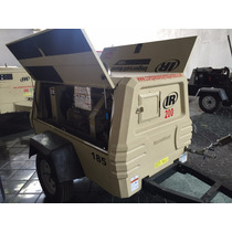 Compresor Portatil Ingersoll 185pcm Para Tanque De Sandblats